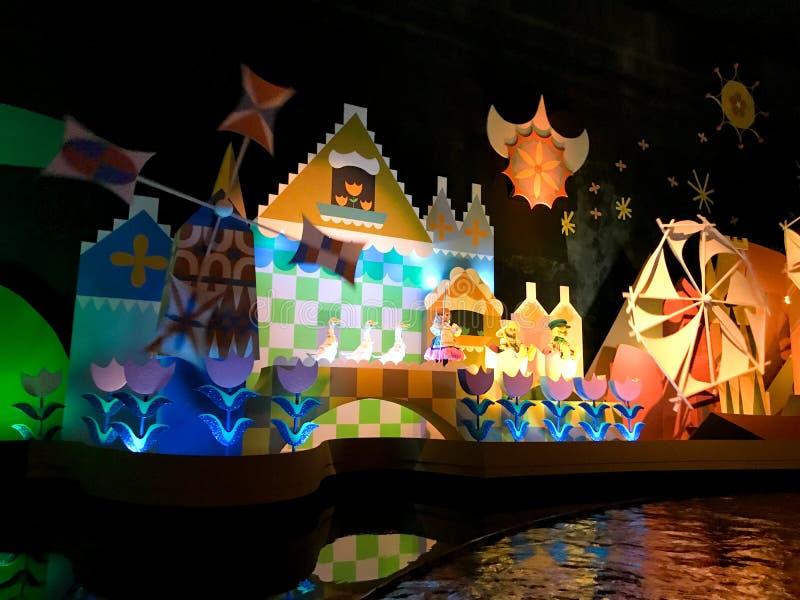 Il ` s un petit tour du monde, Walt Disney World, la Floride images libres de droits