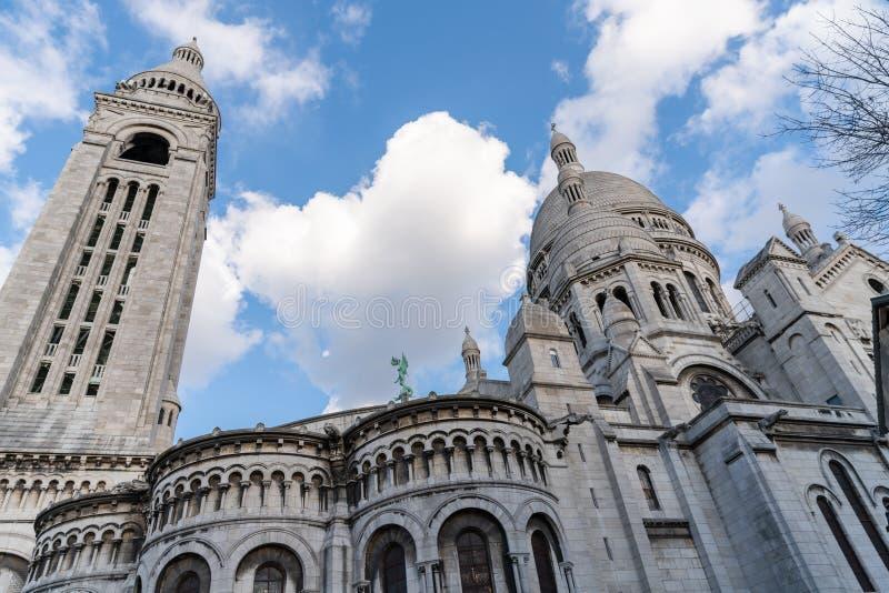 Il Sacre Coeur a Parigi, Francia immagini stock libere da diritti
