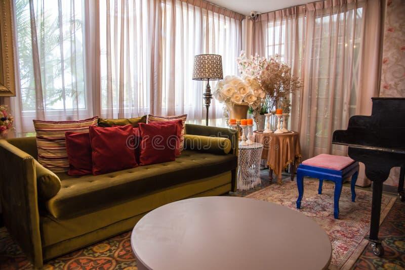 Salone marocchino di stile immagine stock immagine di for Pittura salone