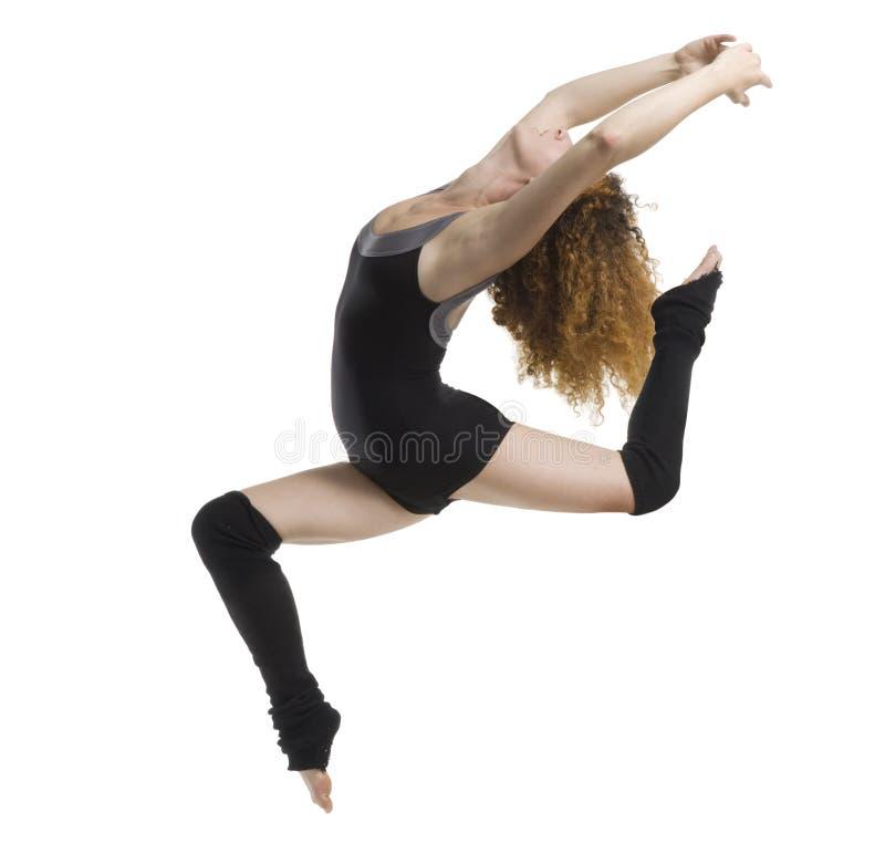 Il salto acrobatico fotografia stock