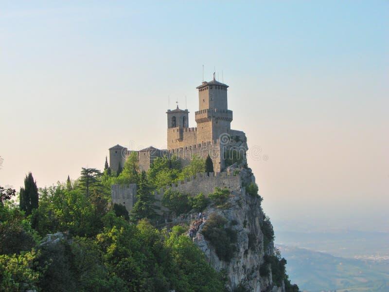 Download Il San Marino - Castello Di Guaita Fotografia Stock - Immagine di italia, repubblica: 7300660