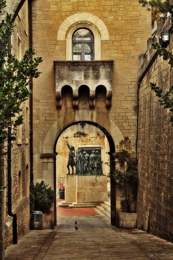 Il San Marino, Italia fotografia stock