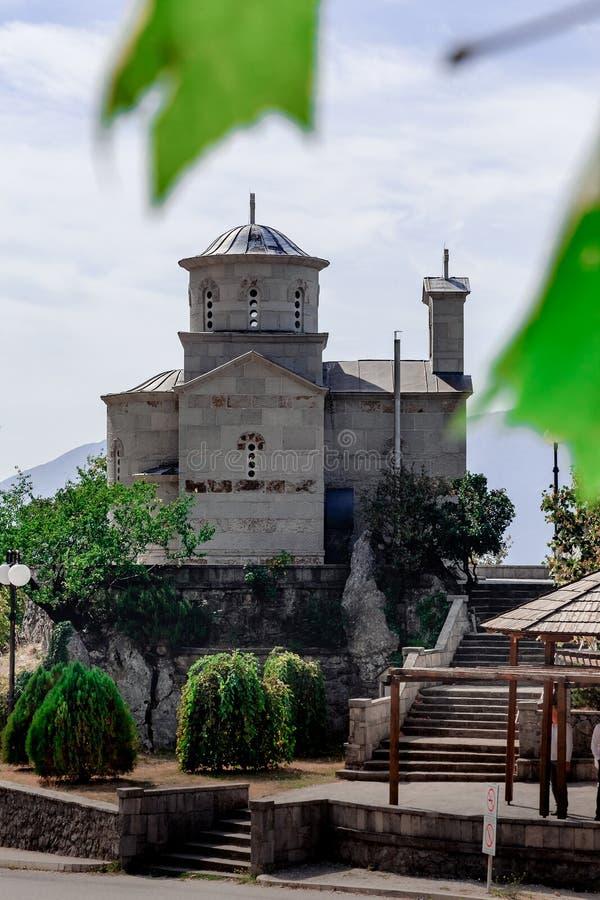Il san Stanko, chiesa di Svetog Stanka fotografie stock libere da diritti