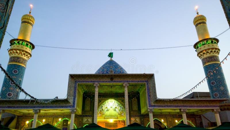 Il santuario di Syed Mohammed Sabba Al Dujail immagini stock