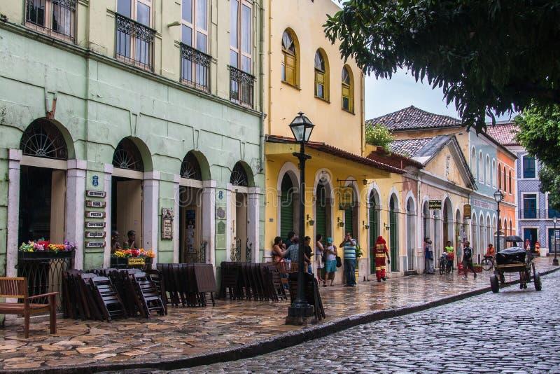 Il sao Luis fa il Maranhao Brasile fotografie stock libere da diritti