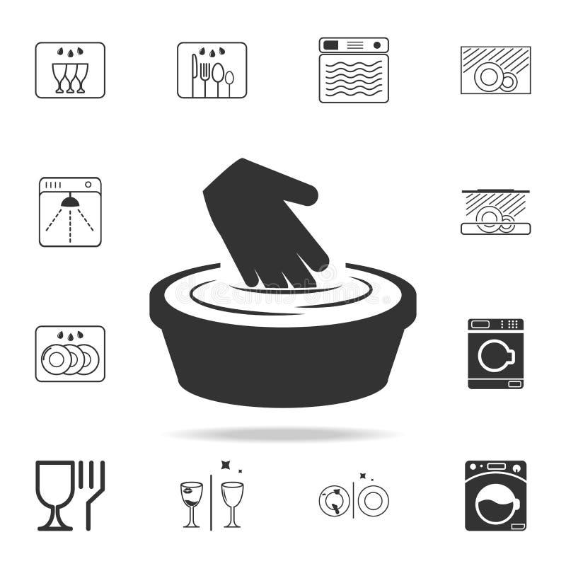 il segno cuocere a vapore fuori una cosa è icona severa Insieme dettagliato delle icone della lavanderia Progettazione grafica di illustrazione vettoriale