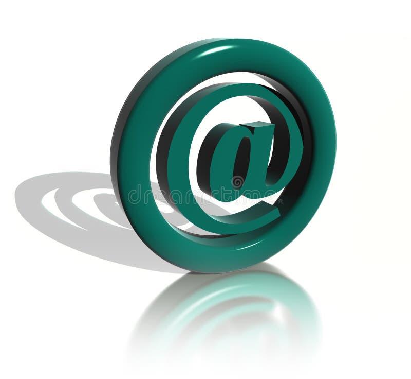 Il segno della posta royalty illustrazione gratis