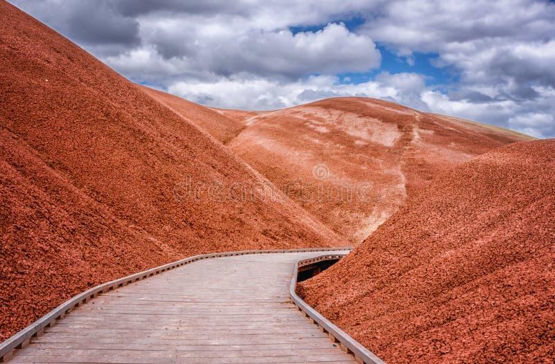 Il sentiero costiero immagini stock