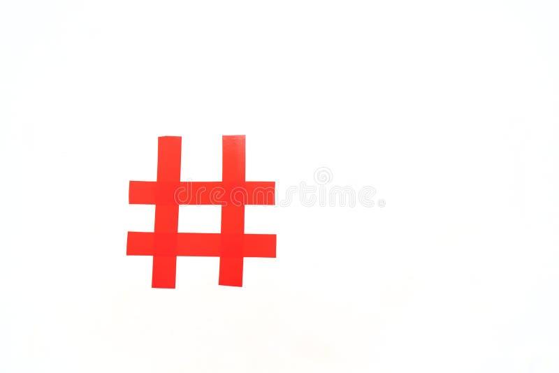 Il simbolo del segno della libbra illustrazione di stock