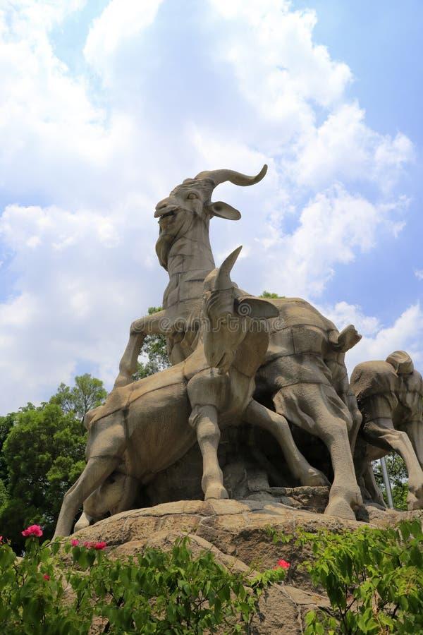 Il simbolo della città di Guangzhou immagini stock libere da diritti