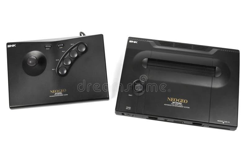 Il sistema neo del video gioco di Geo da SNK fotografie stock libere da diritti