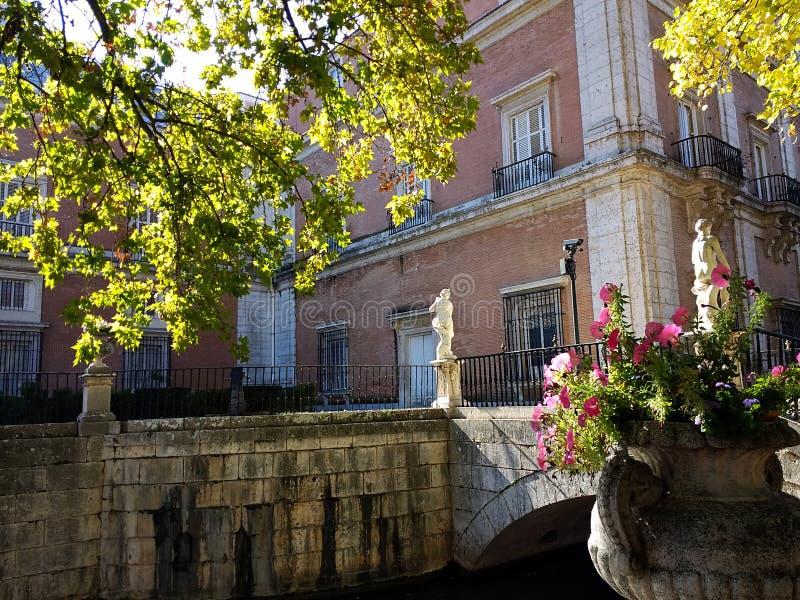 Il sito reale di San Lorenzo de El Escorial fotografia stock libera da diritti