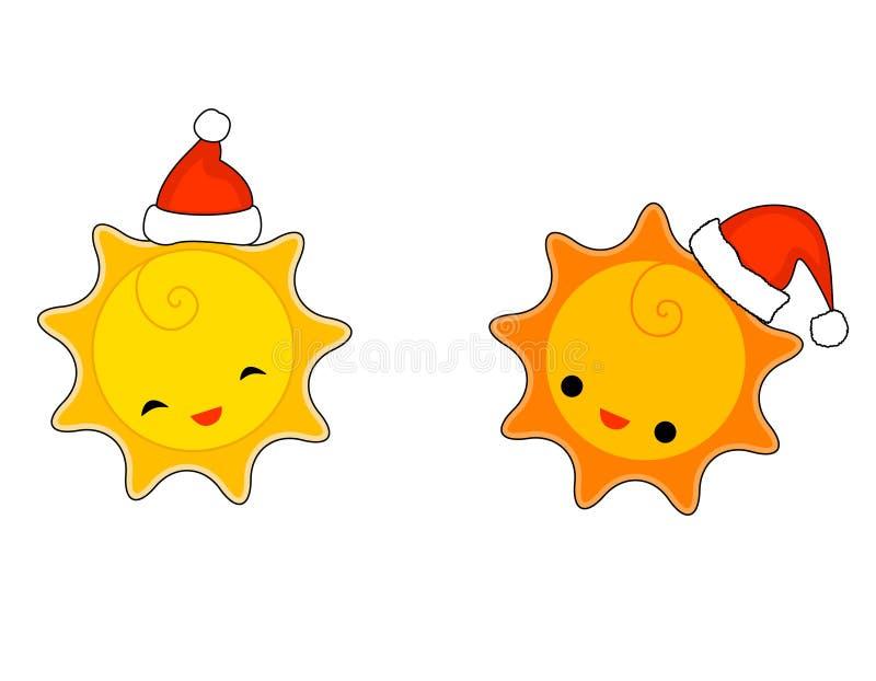 Il sole illustrazione vettoriale