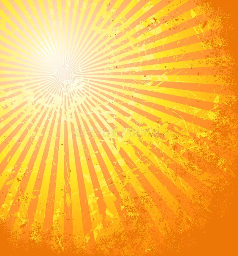 Il sole caldo di estate