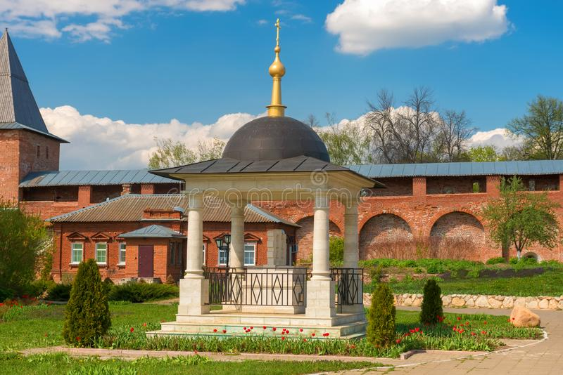 Il solo monumento alle vittime del giogo del Tartaro-Mongolian immagine stock
