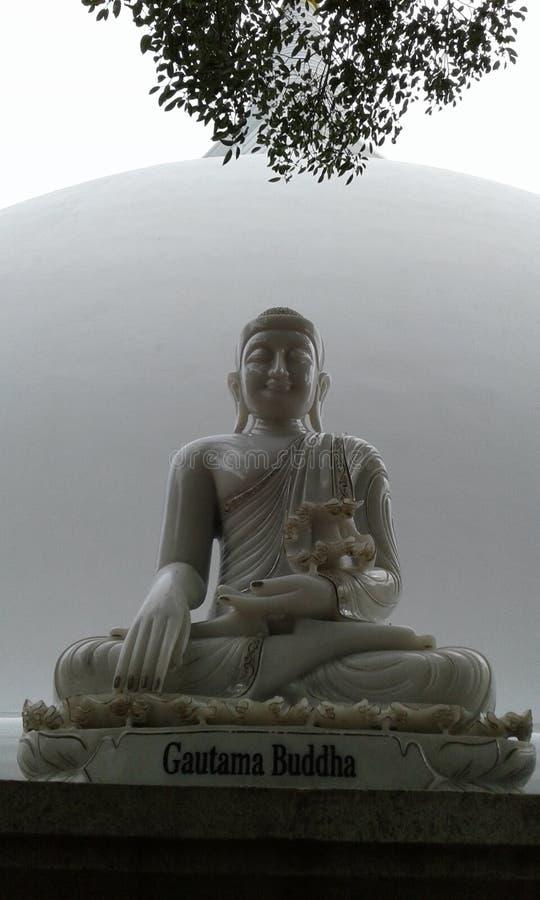 Il Somawathiya Chaitya uno Stupa buddista Polonnaruwa, Sri Lanka immagini stock libere da diritti
