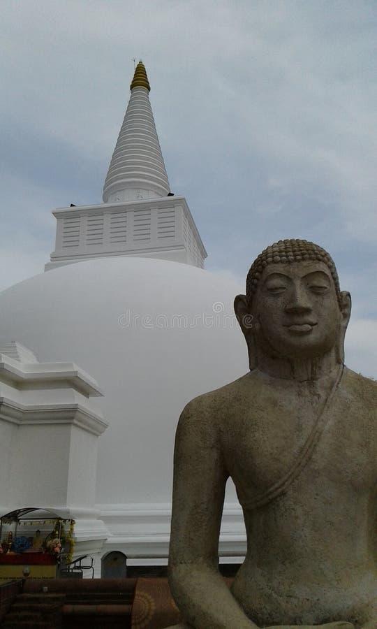 Il Somawathiya Chaitya uno Stupa buddista Polonnaruwa, Sri Lanka fotografie stock libere da diritti
