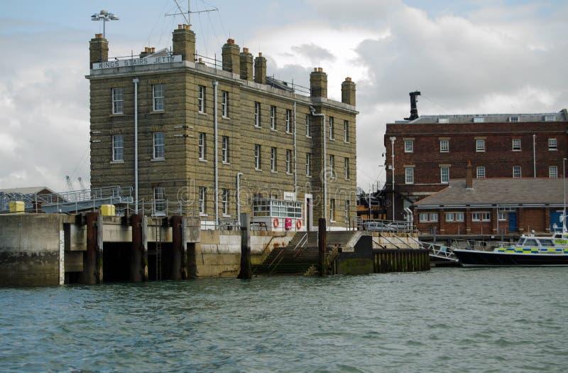 Il Steps Di Re, Base Navale Di Portsmouth Immagine Editoriale
