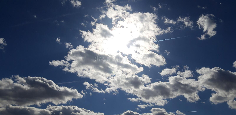 Il Sun nascosto fotografie stock libere da diritti
