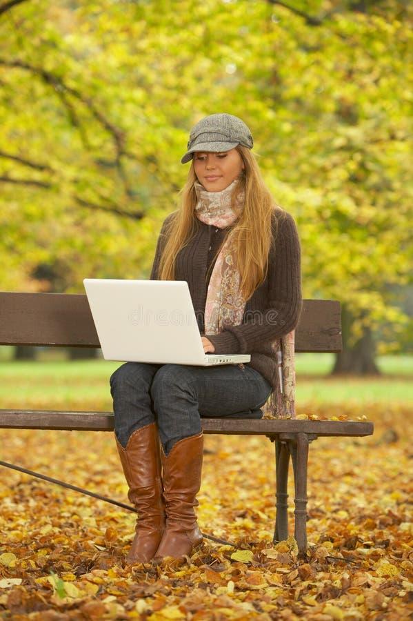 Il suo autunno! 2 immagini stock libere da diritti