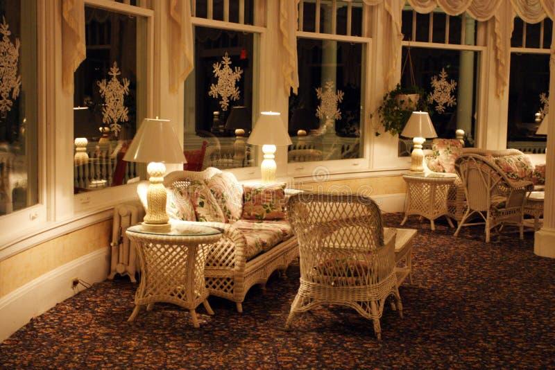 Il supporto Washington Hotel, Bretton Woods, U.S.A. immagini stock libere da diritti