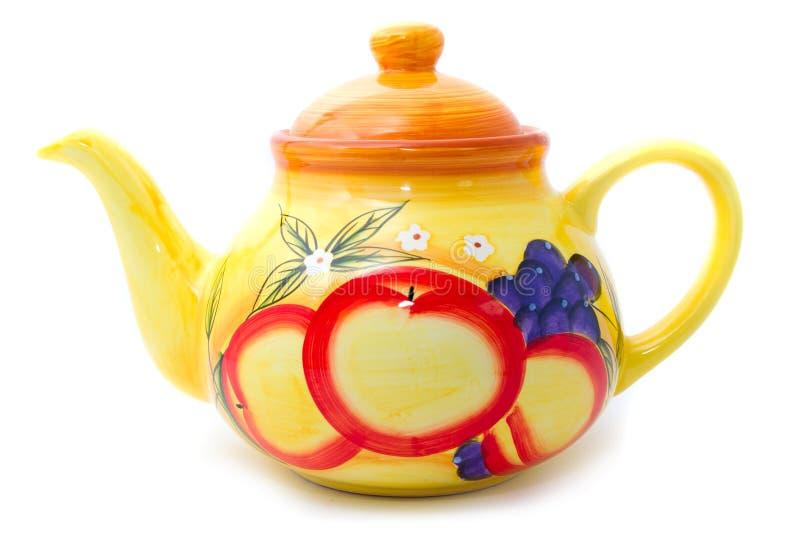 Il tè saporito della frutta è pronto! fotografie stock libere da diritti