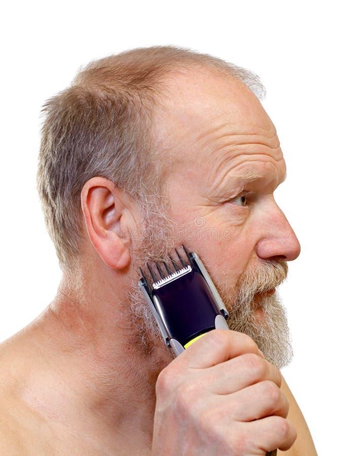 Il taglio di capelli fotografie stock libere da diritti