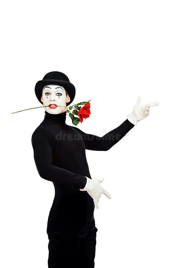 Il tango con è aumentato immagine stock libera da diritti