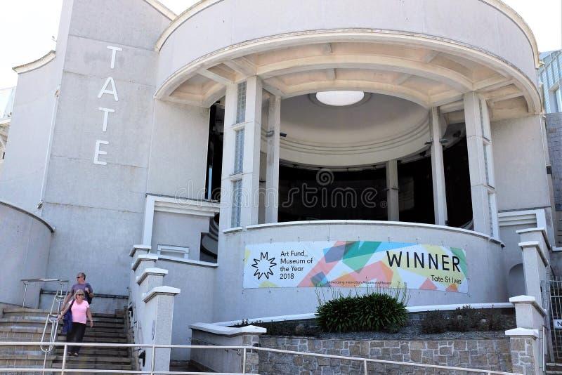 Il Tate, St Ives, Cornovaglia immagine stock libera da diritti