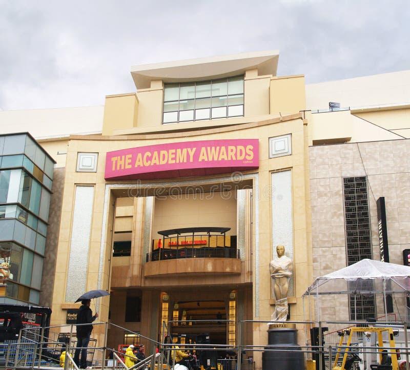 Il teatro della Kodak, casa dei premi dell'Accademia fotografia stock libera da diritti