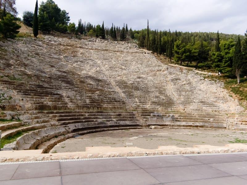 Il teatro di Argos fotografia stock libera da diritti