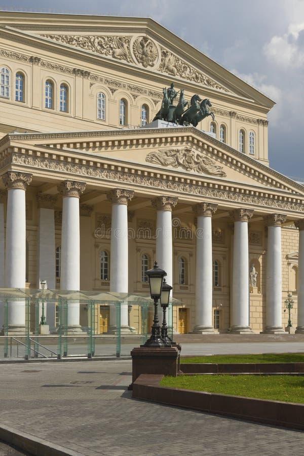Il teatro di Bolshoi dell'opera e del balletto a Mosca, Russia. immagine stock libera da diritti