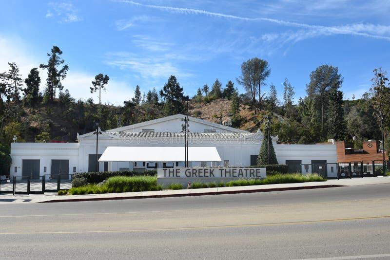 Il teatro greco Los Angeles fotografia stock libera da diritti