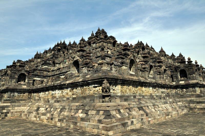 Il tempiale di Borobudur immagini stock libere da diritti