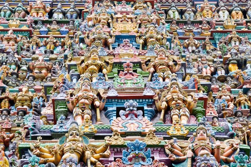 Il tempiale di Meenakshi, Madura (India) fotografia stock