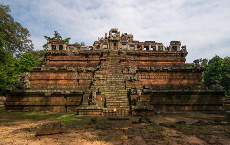 Il tempio celeste Phimeanakas immagini stock