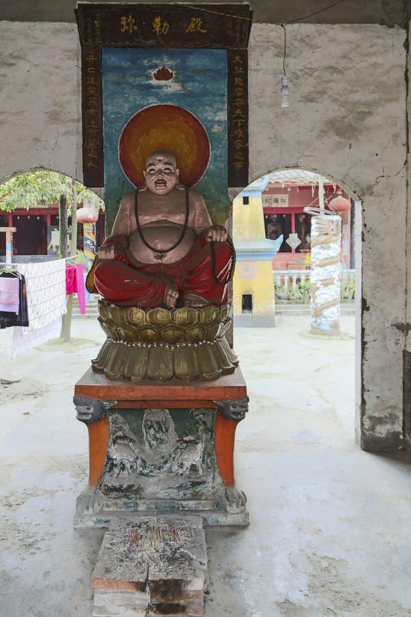 Il tempio in città antica di huaiyuan, porcellana fotografia stock libera da diritti