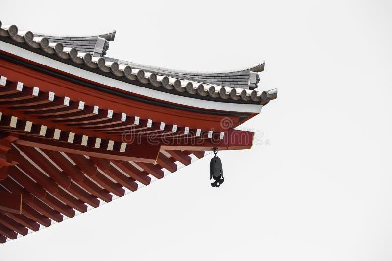 Il tempio di Asakusa ed il vecchio Sensoji shrine, un posto famoso per gli ospiti fotografia stock