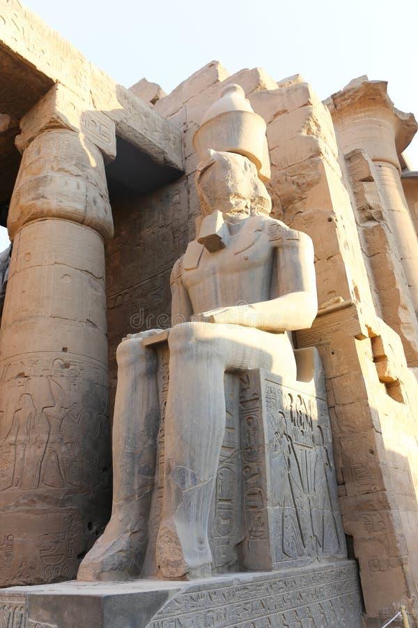Il tempio di Luxor - l'Egitto immagini stock