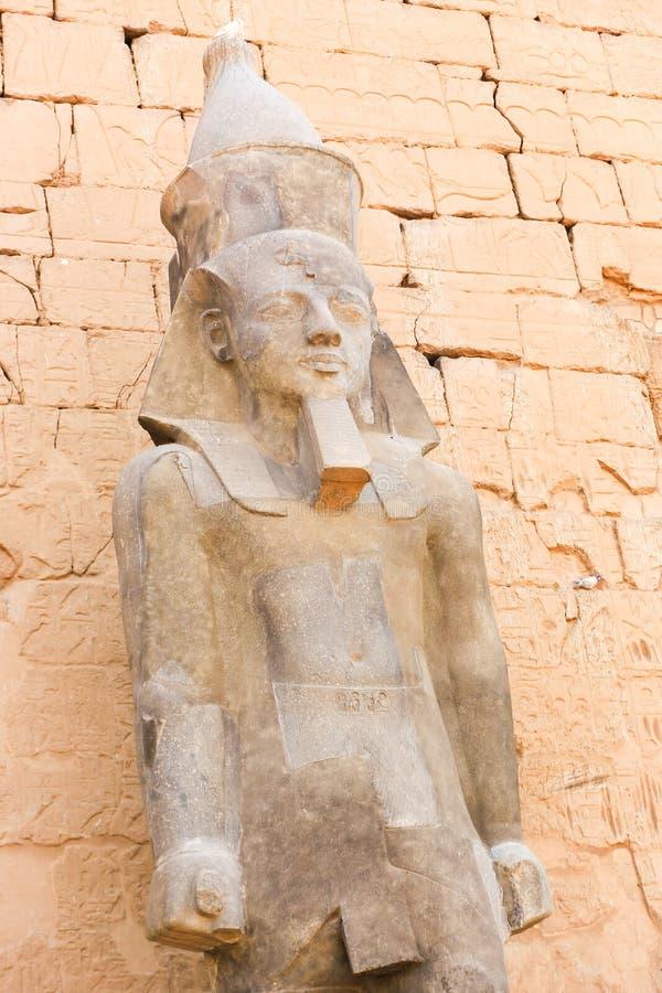 Il tempio di Luxor - l'Egitto immagine stock