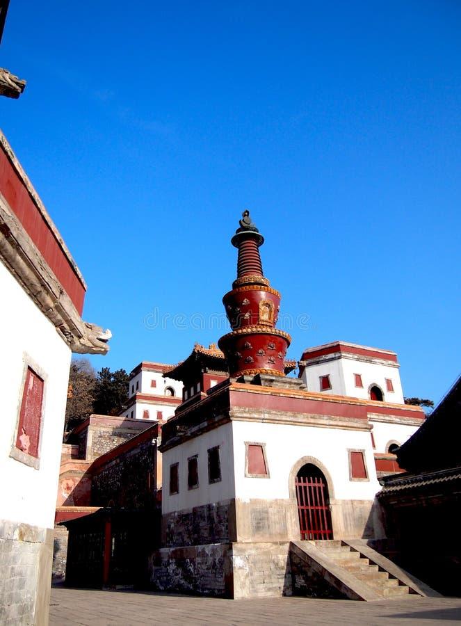 Il tempio tibetano fotografie stock libere da diritti