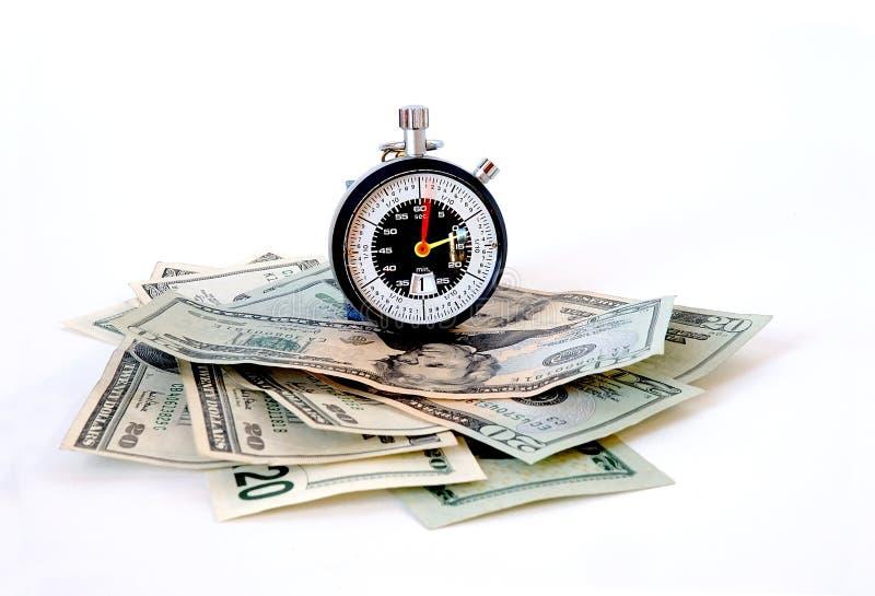 Download Il tempo è denaro immagine stock. Immagine di borsa, closeup - 213365