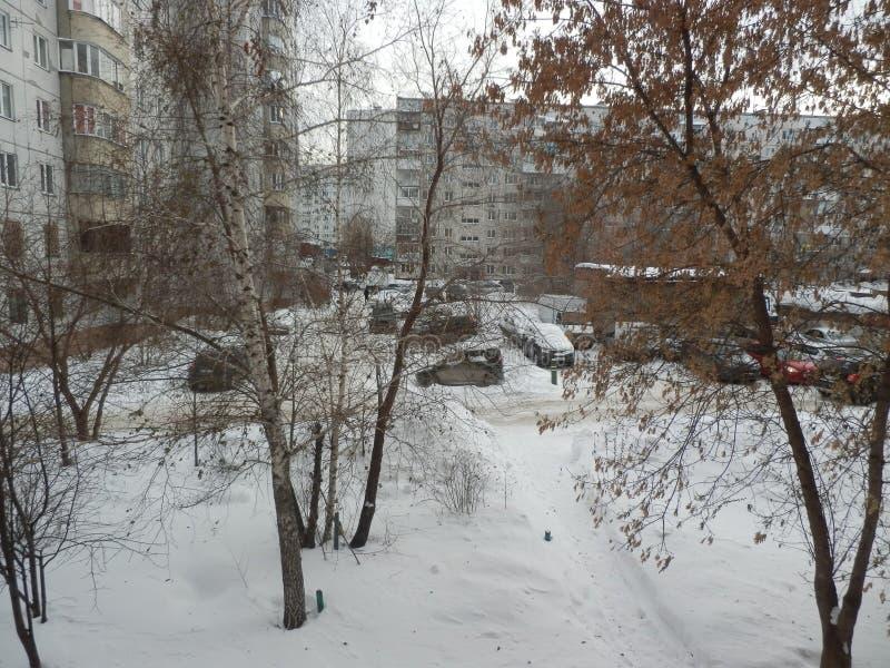 il tempo è freddo immagine stock