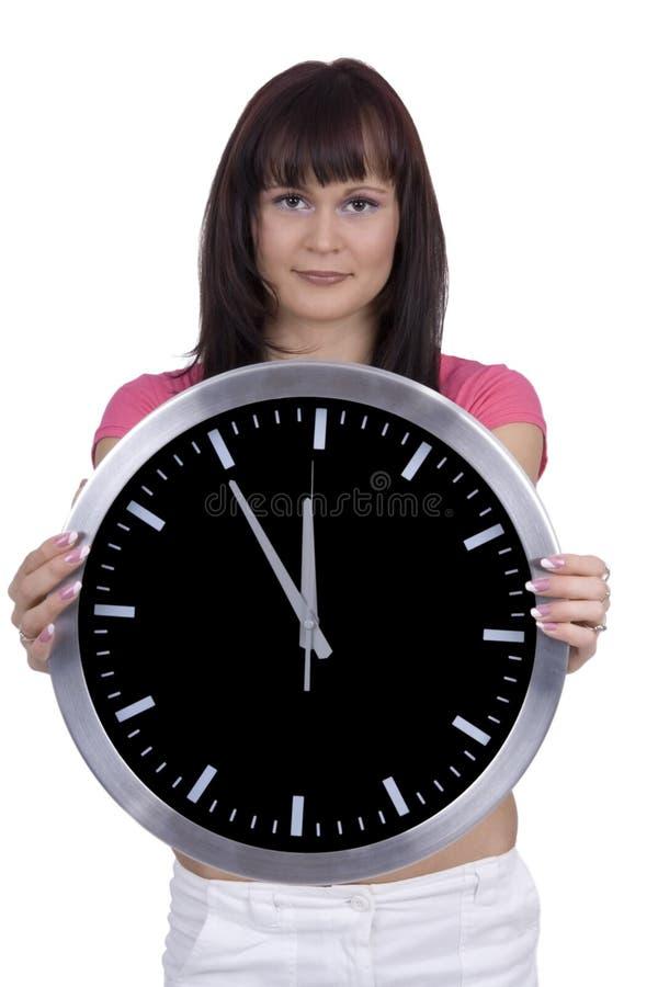 Il tempo sta funzionando fotografie stock