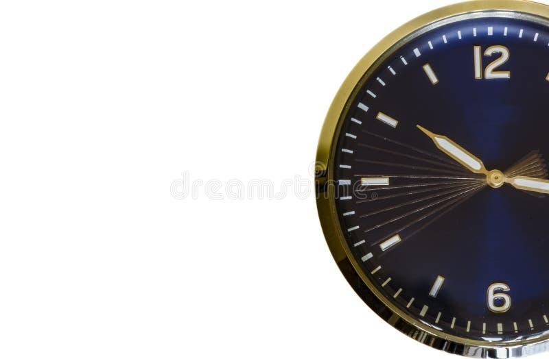 Il tempo sta ticchettando - fondo bianco illustrazione di stock