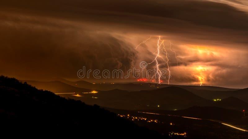 Il temporale immagini stock libere da diritti