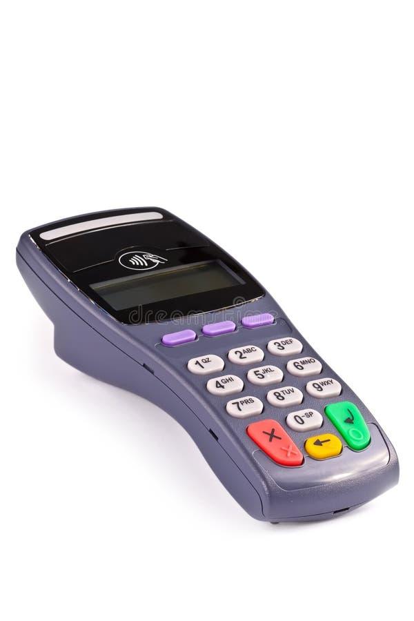Il terminale di pagamento senza contatto immagine stock libera da diritti
