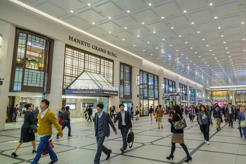 Il terminale sotterraneo di Umeda fotografia stock