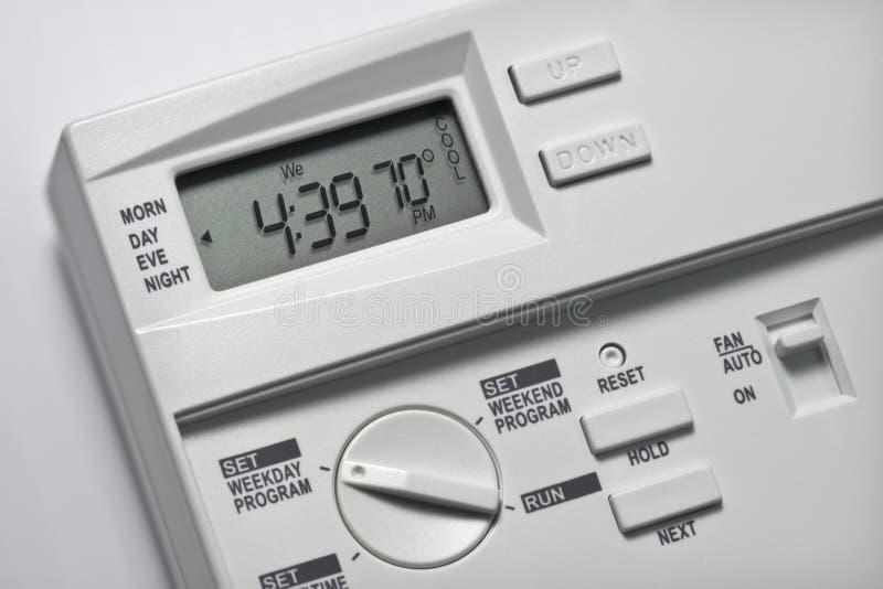 Il termostato 70 gradi si raffredda immagini stock libere da diritti