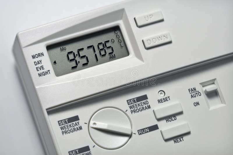 Il termostato 85 gradi si raffredda fotografia stock libera da diritti